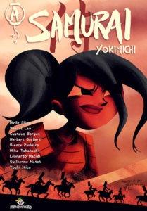 A Samurai: Yorimichi capa Mylle Silva