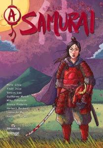 A Samurai capa Mylle Silva
