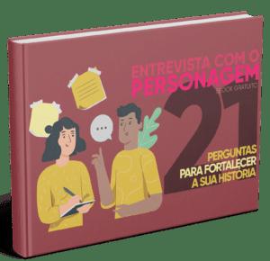 Ebook entrevista com o personagem Oficina de Escrita